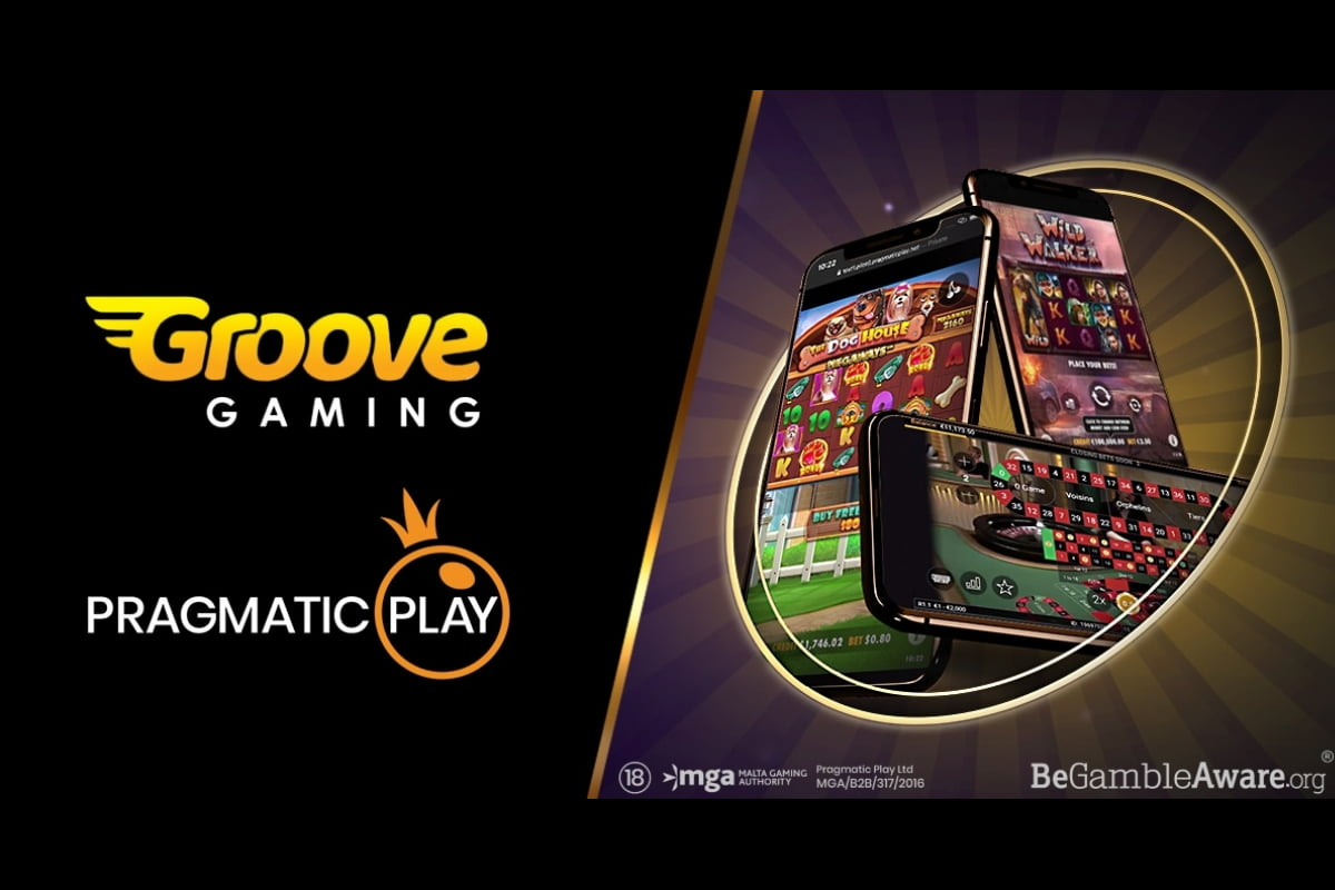 Pragmatic Play Enters Distribution Agreement With GrooveGaming