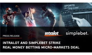 Simplebet And Intralot Team Up For Micro-Markets Offering