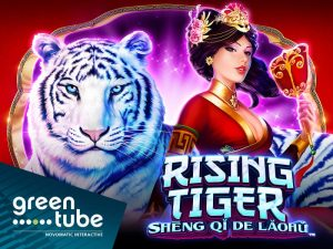 Greentube Launch Latest Rising Tiger – Shēng qi de Laohu