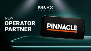 Pinnacle Incorporates Relax Gaming Slot Portfolio
