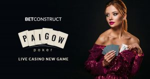 BetConstruct Launch Live Casino Game Pai Gow Poker