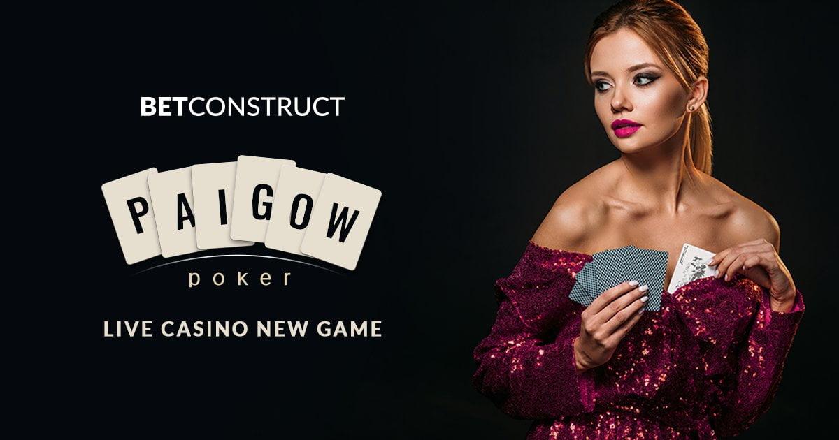 BetConstruct Launch Live Casino Game Pai Gow Poker
