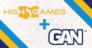 High 5 Games And GAN Partner Up