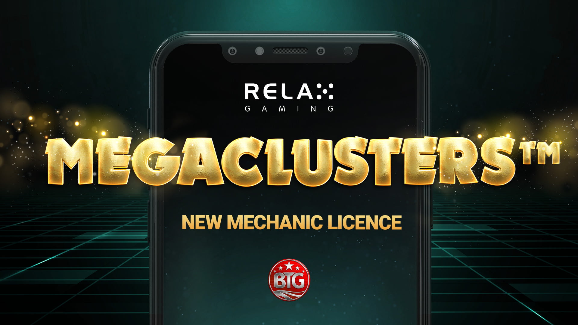 Relax Acquires Megaclusters 12-Month Exclusivity From Big Time Gaming