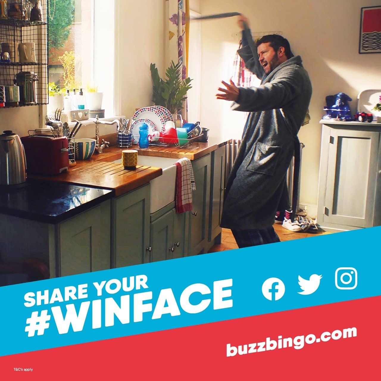 Buzz Bingo Unveils #WinFace Marketing Campaign