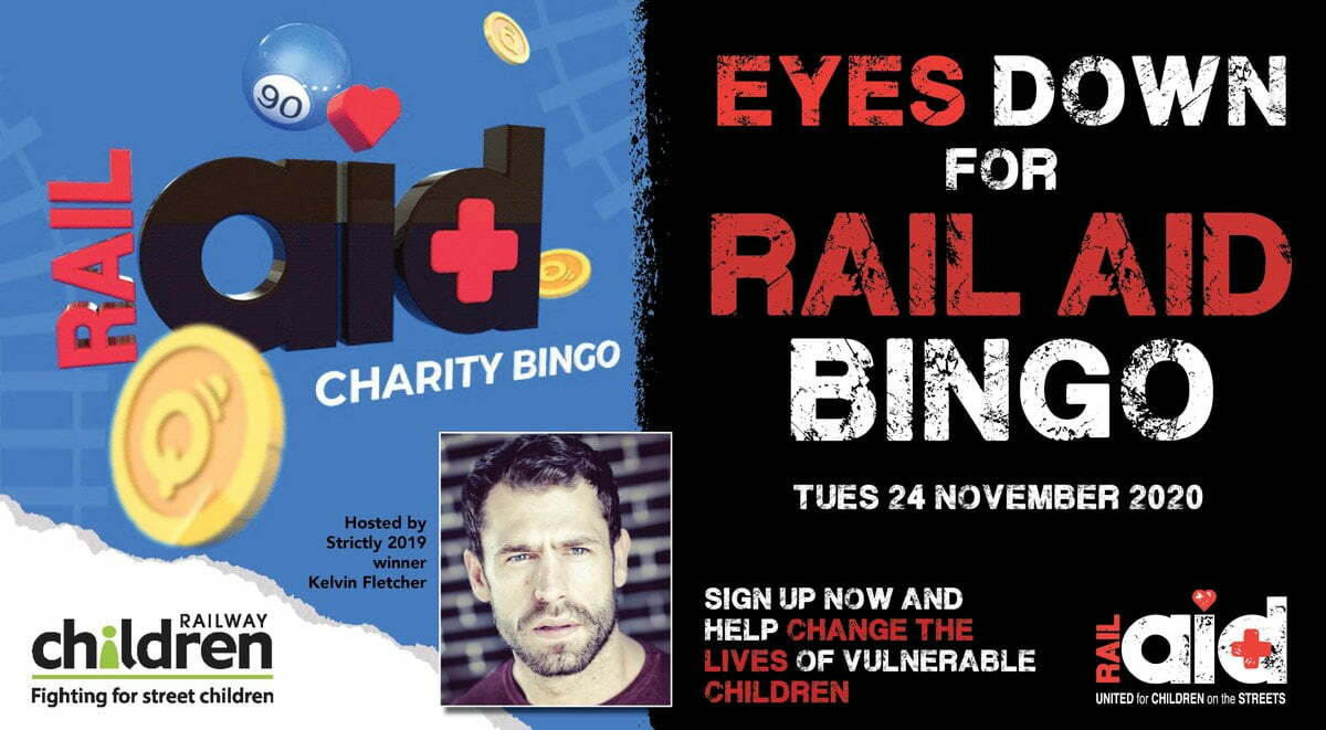 RailAid Holds Charty Bingo In Conjunction With MrQ