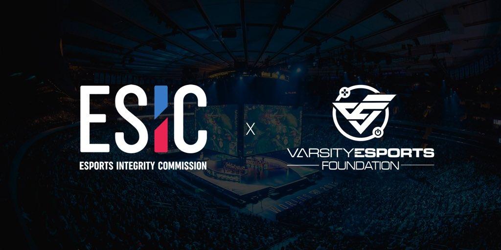 ESIC Enlists Varsity Esports Foundation