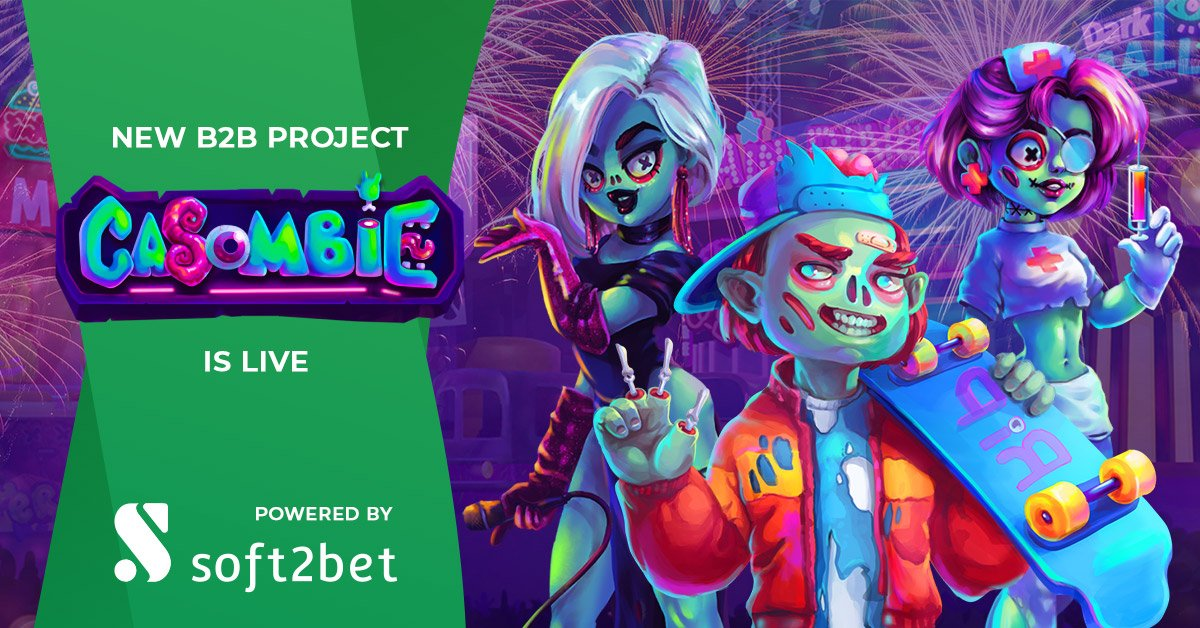 Soft2Bet Adds Newest Operator Brand Undead-Themed Casombie