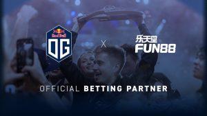 Fun88 Dota 2 pro-team Becomes OG's Global Betting Partner