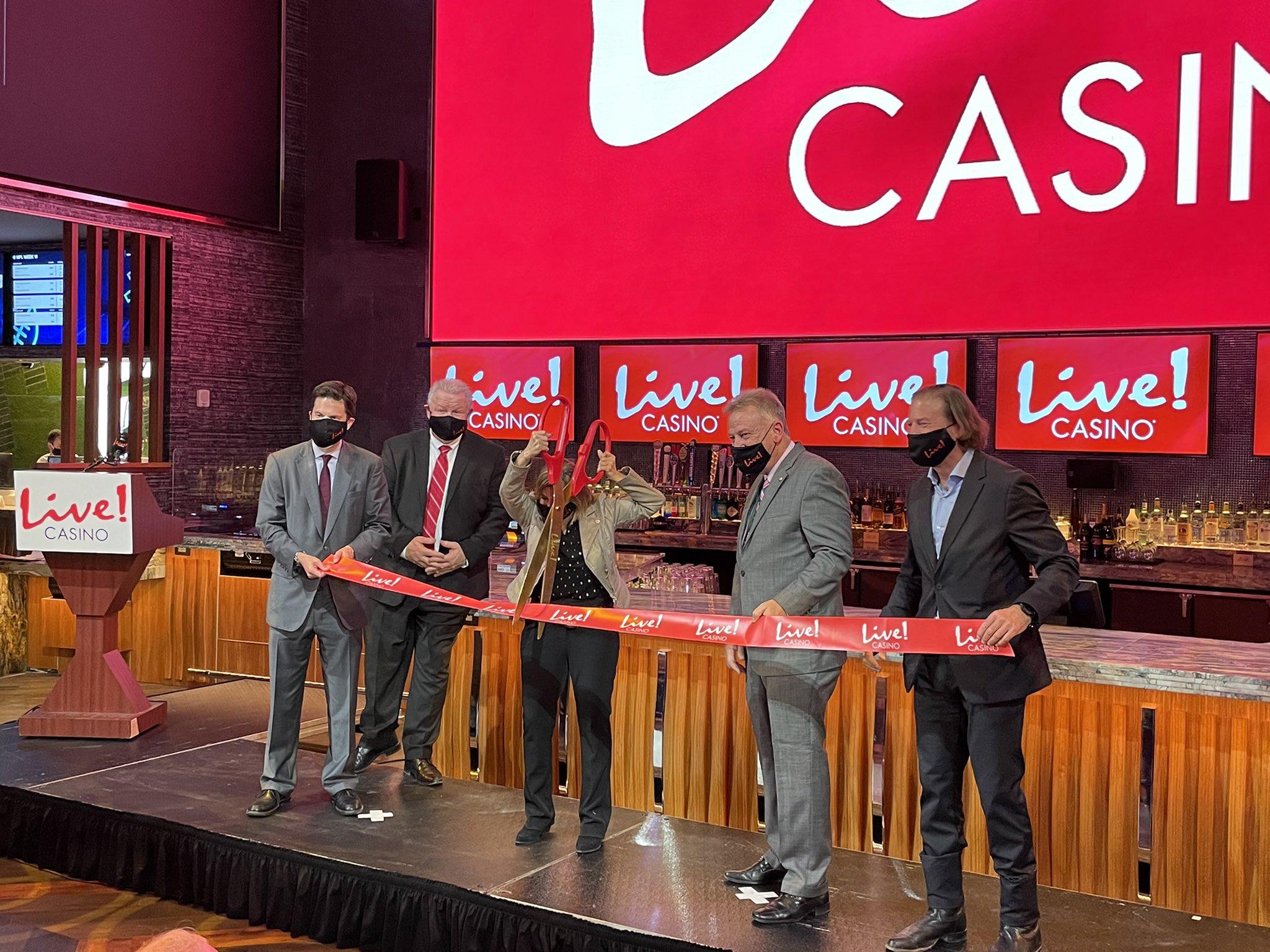 Cordish Companies Celebrate Live! Casino Opening
