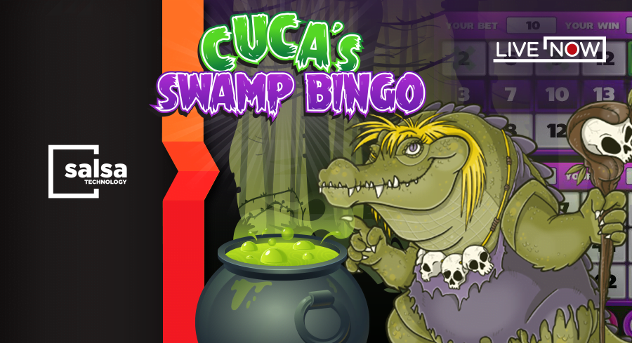 Salsa Technology Release Cuca's Swamp Bingo