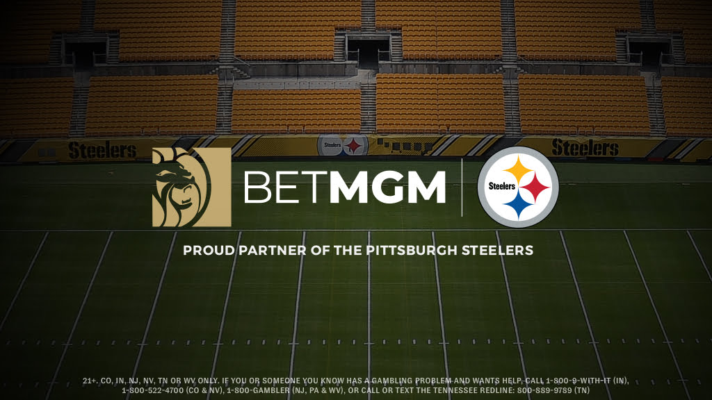 Pittsburgh Steelers Confirm BetMGM As First Gaming Partner