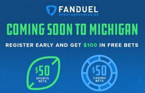 FanDuel Registers Early For Michigan Start