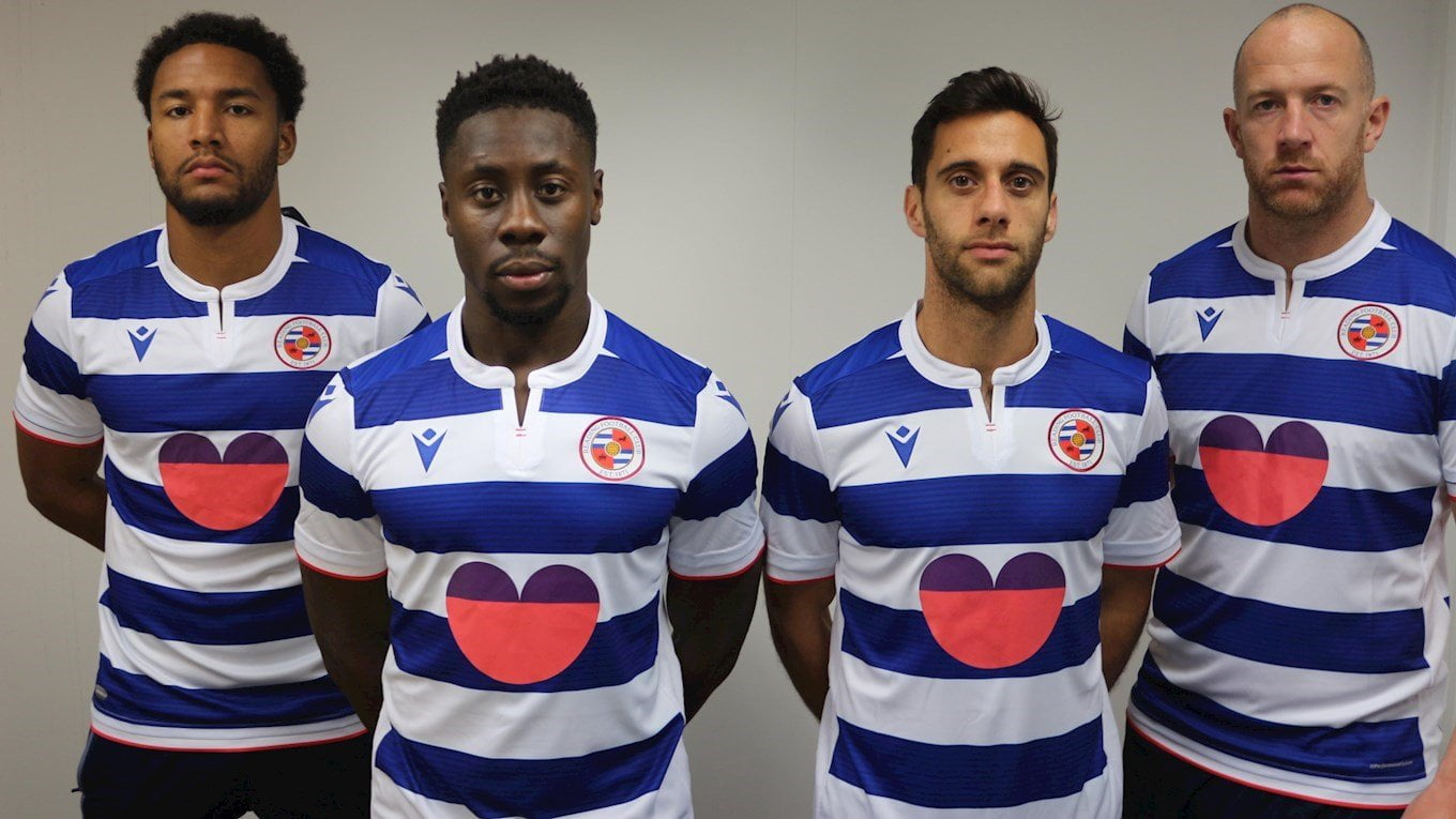 Reading FC To Switch First Team Shirt To Support SGW