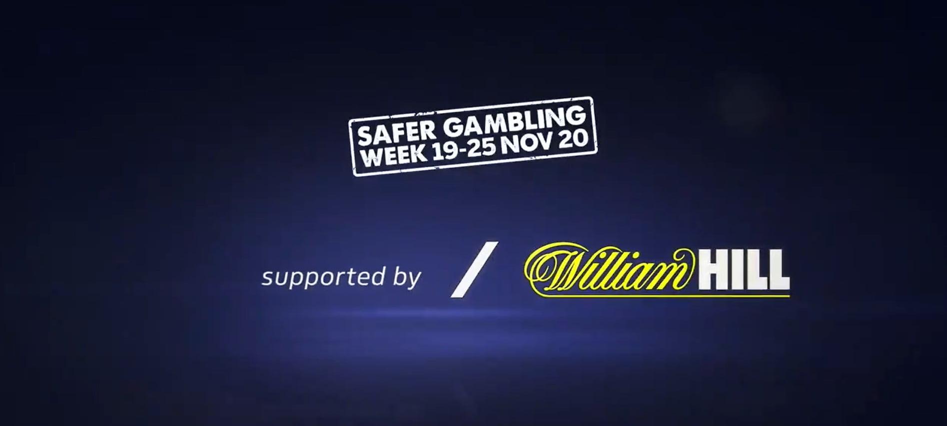 William Hill Gets Behind Safer Gambling Week-#SGWeek20
