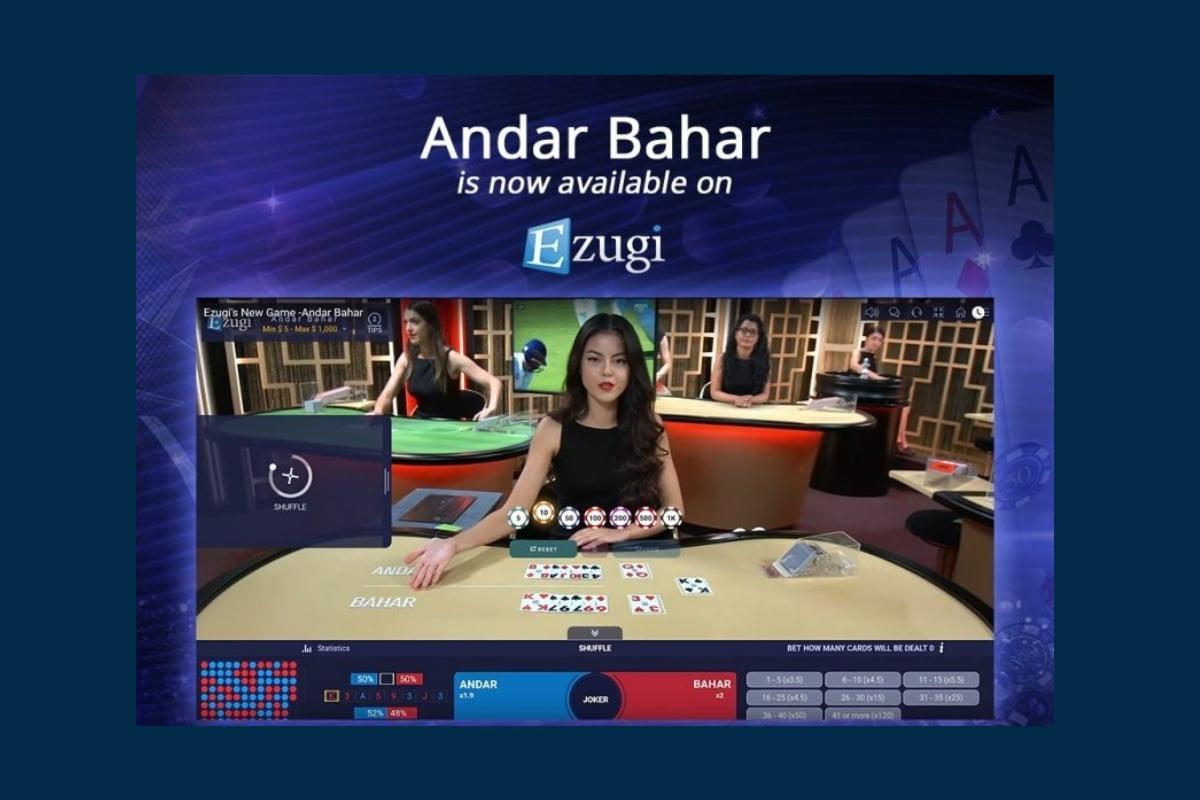 Ezugi Unveils Over-The-Table (OTT™), Andar Bahar