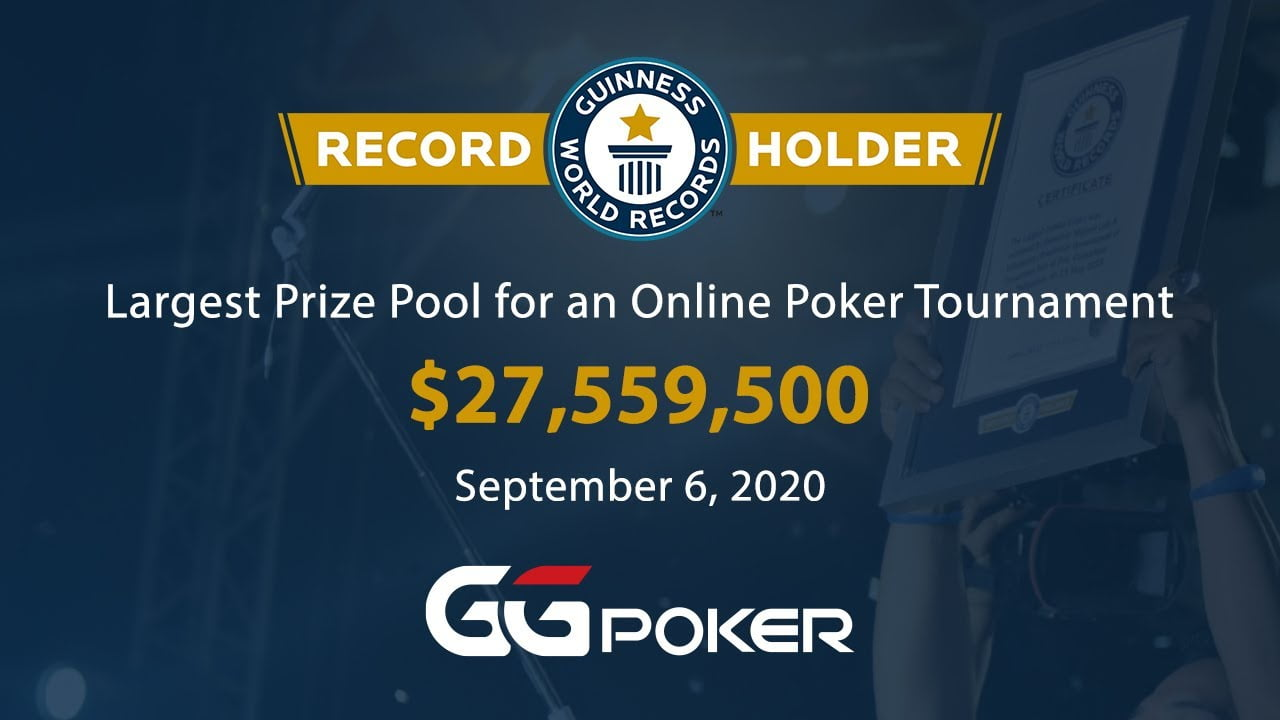 GGPoker To Enter Guinness World Records For WSOP Main Event