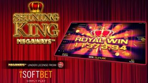 ISoftBet Adds Shining King Megaways™ To Its Portfolio