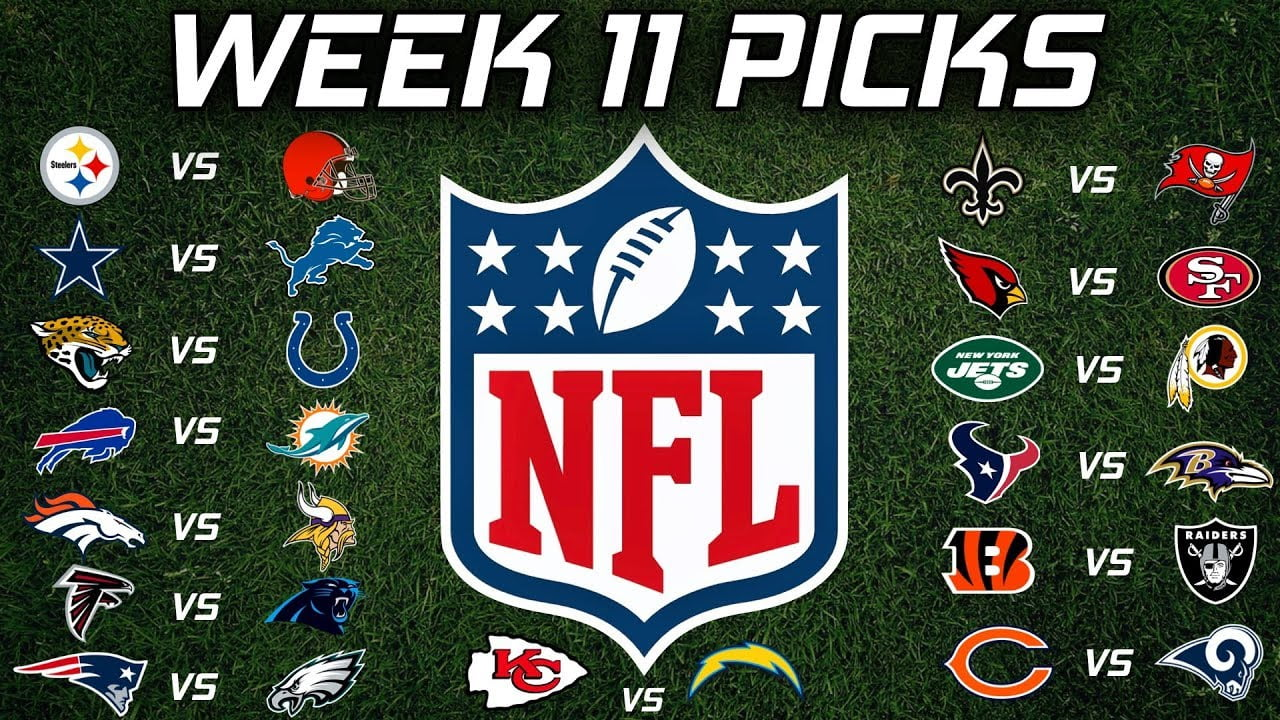 Home Favourites Dominating NFL's Week 11 Schedule
