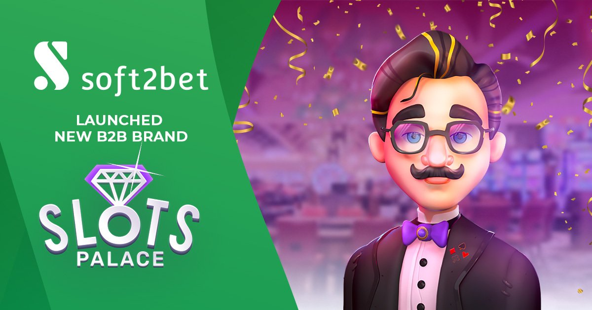 Soft2Bet Launch SlotsPalace Gamified Slots Brand
