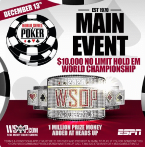 WSOP To Hold Live Finale Main Event In 2020