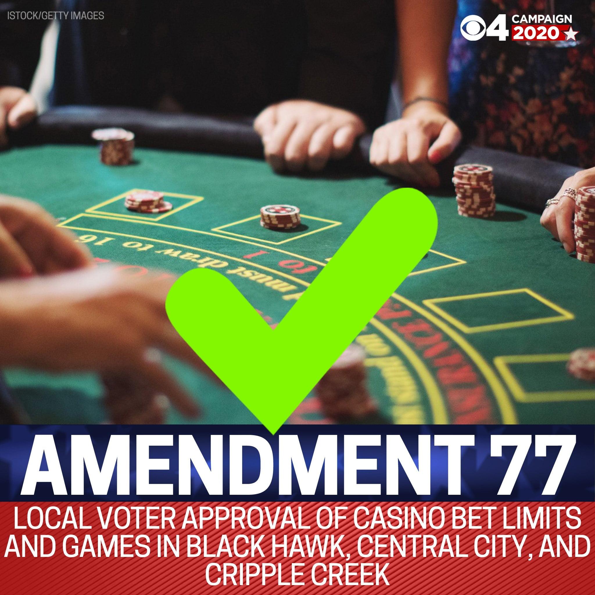 Monarch Casino Black Hawk Praise Amendment 77