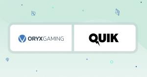 Oryx Hub Debuts Quik Gaming Partnership