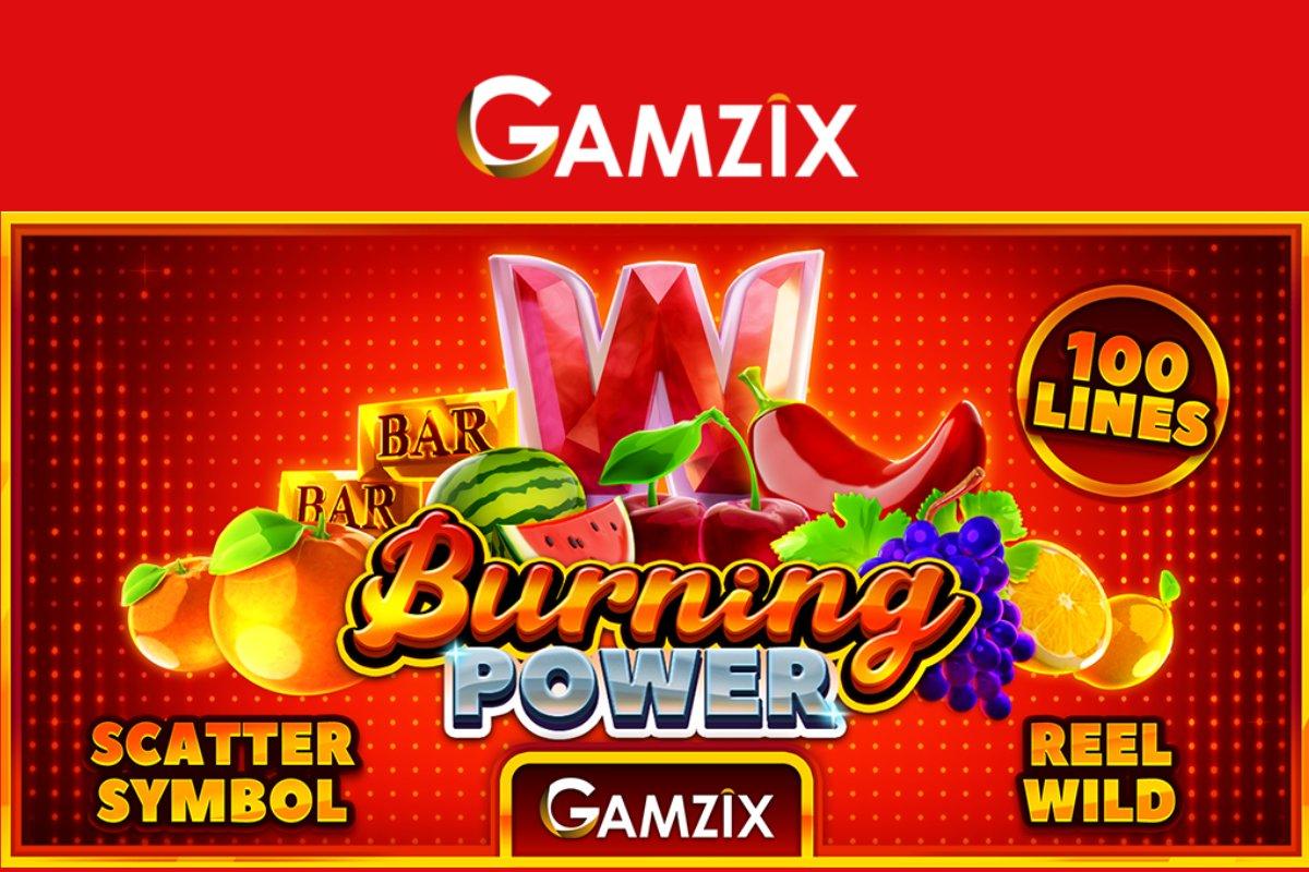 Gamzix Release New Burning Power Slot