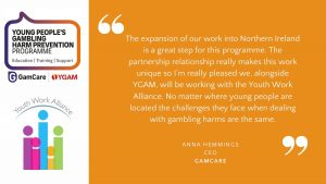 YGAM And GamCare Take Support Programme To Northern Ireland