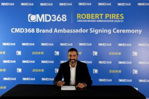 Robert Pires Joins CMD368 As Ambassador