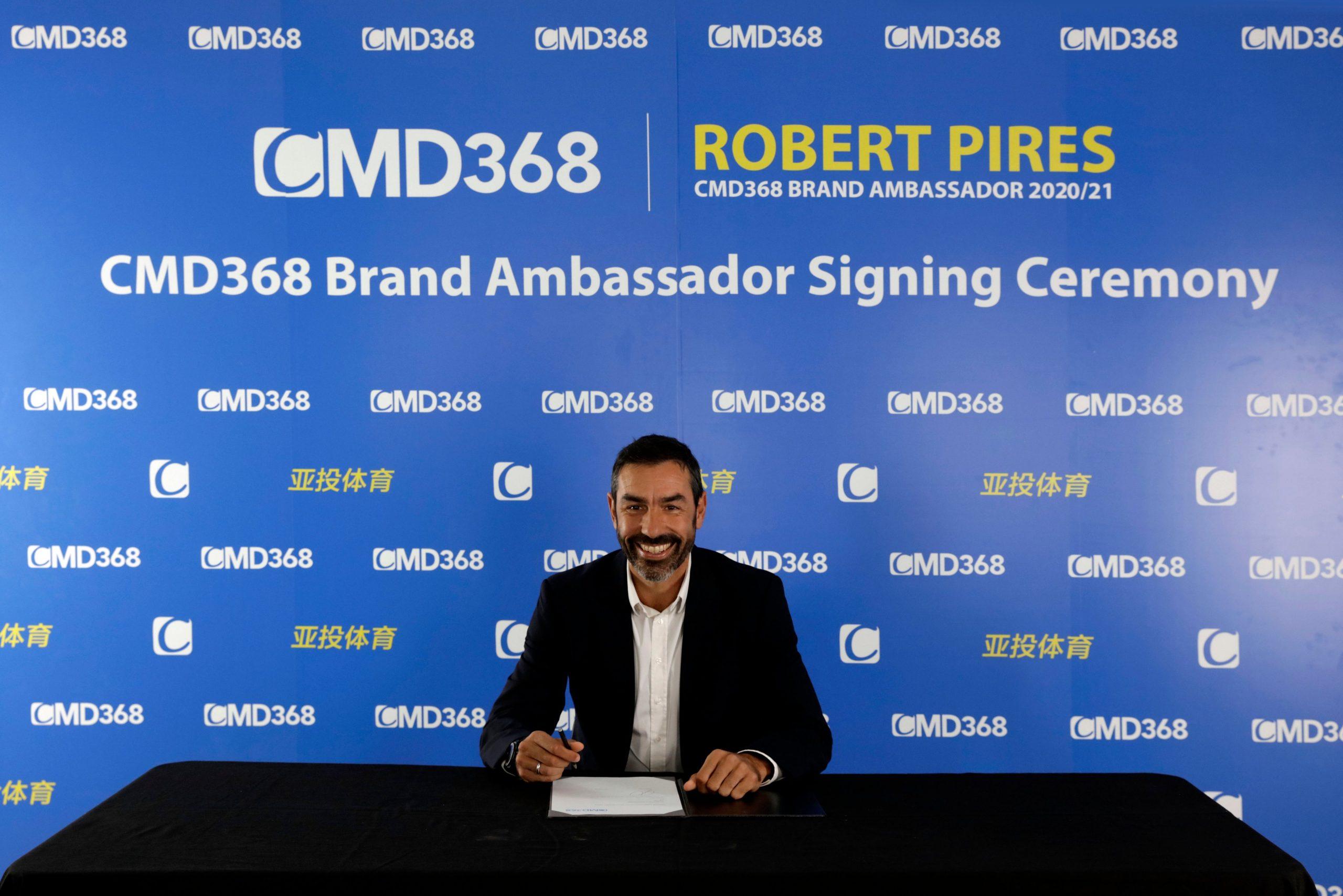 Robert Pires Joins CMD368 As Ambassador