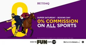 Ladbrokes Owned BETDAQ To Offer 0% Commision On Boxing Day