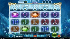Play'n GO Reveal Frozen Gems Video Slot