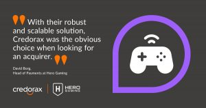 Hero Gaming To Streamline Payments Through Credorax