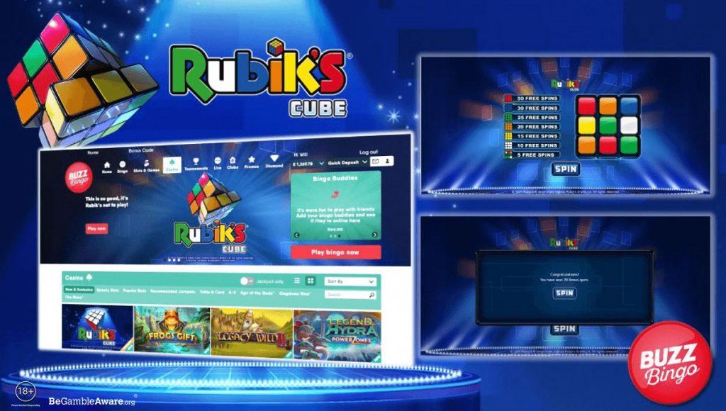 Playtech Adds Revolutionary Slot Focused On Rubik's® Cube