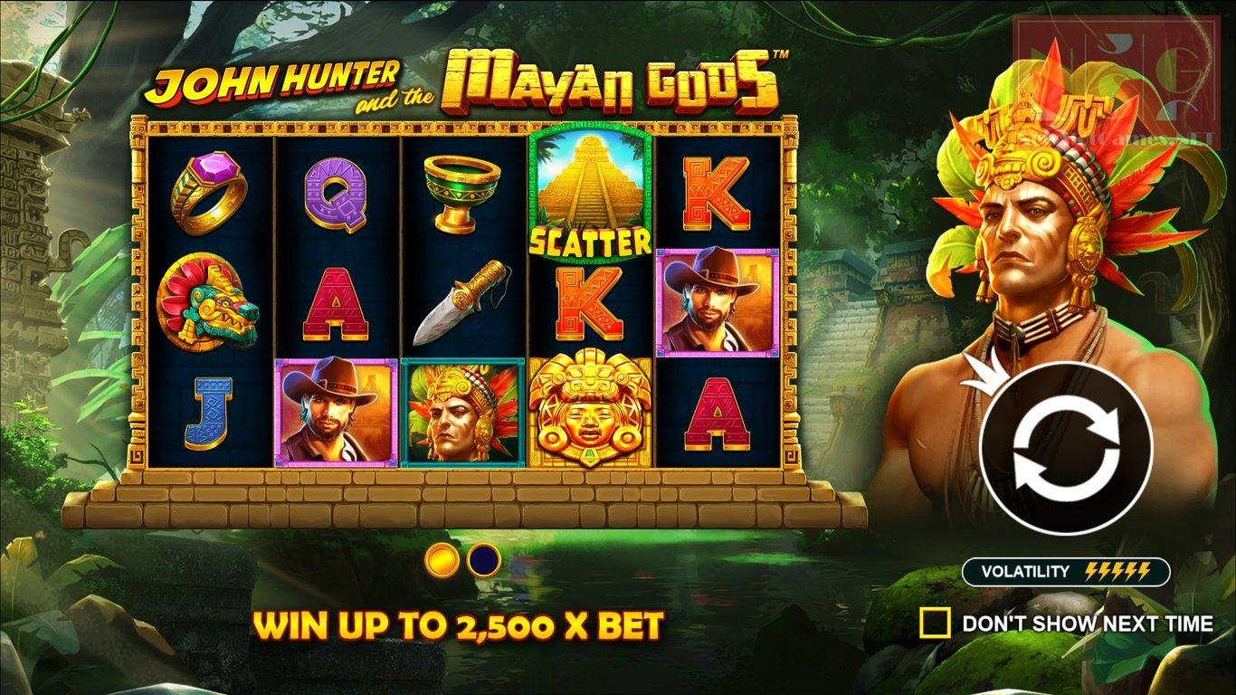 Cele mai bune jocuri ca la aparate 2021 - John Hunter and the Mayan Gods