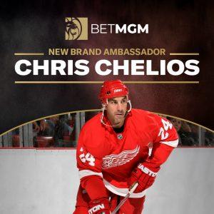 Chris Chelios Named BetMGM Celebrity Brand Ambassador