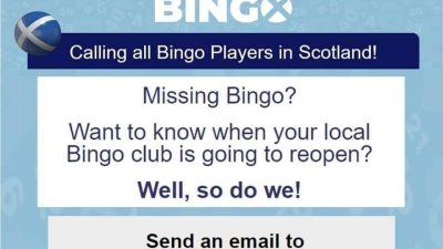 Campaign to Save Scottish Bingo Launched