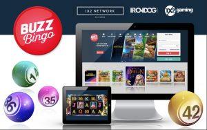 Buzz Bingo Signs 1X2 Network Deal