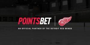 PointsBet Named Detroit Red Wings Official Gaming Partner