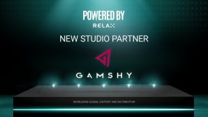 Relax Enters Powered By Collab With Gamshy