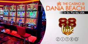 Zitro's 88Link Games Available At Iconic Dania Beach Casino FL