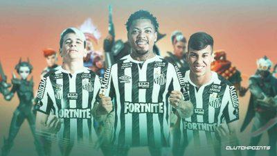 Fortnite To Become Santos FC's Master Sponsor