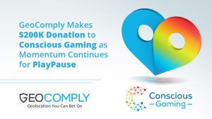 GeoComply Makes $200k Conscious Gaming Donation For PlayPause Tool