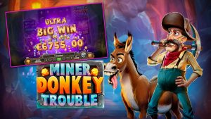 Play'n GO Launch Latest Adventure Miner Donkey Trouble