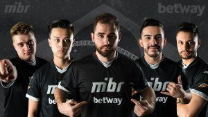 Betway Extends Sponsorship Of Brazil's MIBR