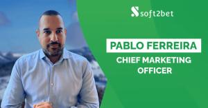 Pablo Ferreira Named Soft2Bet Chief Marketing Officer