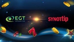 EGT Makes Czech Entry Through Synottip Partnership