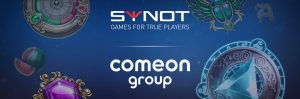Synot Games Praise 'Prestigious Deal' With ComeOn Group