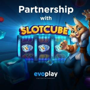 Evoplay And Slotcube Sign Partnership